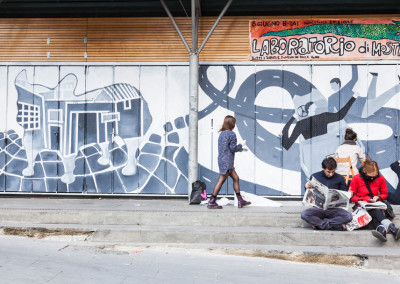 Trastevere Rione del cinema - San Cosimato - OfficinaB5